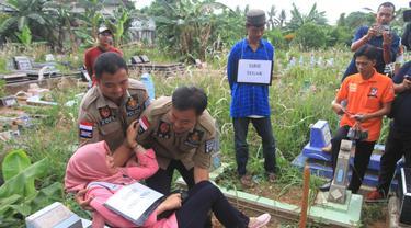 Lokasi Pembunuhan PNS Palembang Terbongkar Dari Percakapan Tersangka dan Istrinya