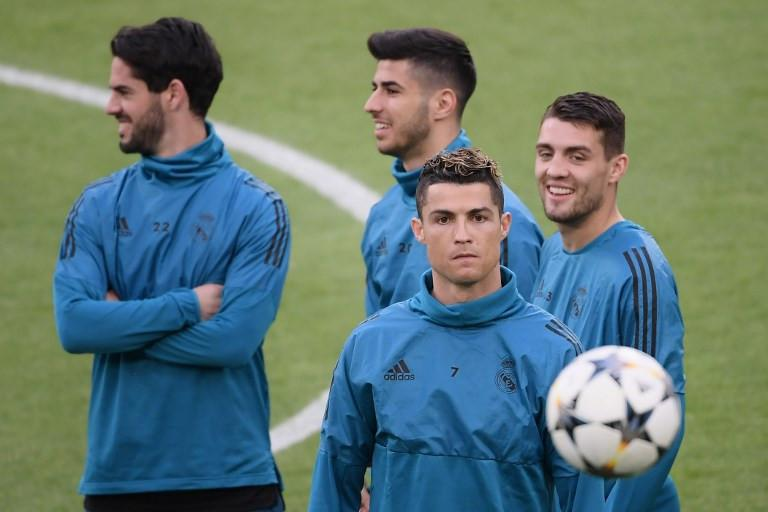 Penyerang Real Madrid, Cristiano Ronaldo (AFP/Marco Bertorello)