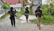 TNI dan Densus Antiteror 88 menyisir wilayah di Poso