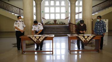 Badan Penelitian dan Pengembangan Perhubungan (Balitbanghub) melakukan kunjungan/courtesy call ke Kampus Universitas Gadjah Mada (UGM) pada Selasa (8/6)
