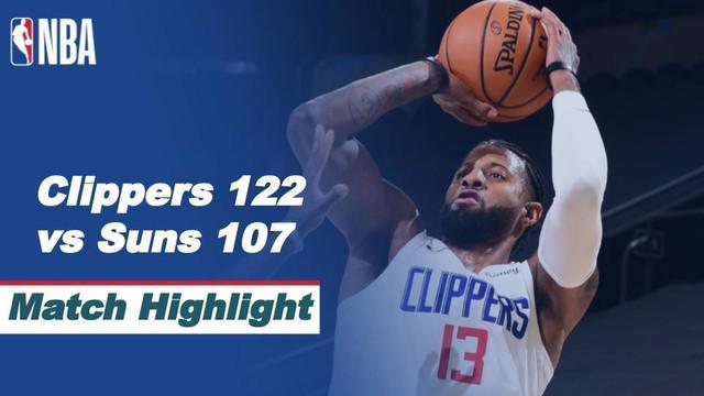 Berita Video Highlights NBA, LA Clippers Kalahkan Phoenix Suns 112-107