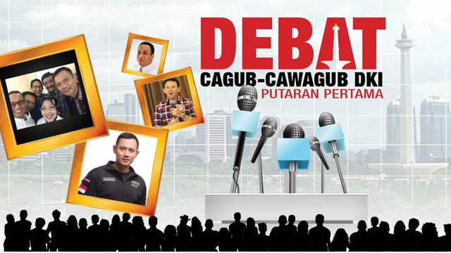 6 Sesi Debat Cagub Cawagub Dki Putaran Pertama News Liputan6 Com