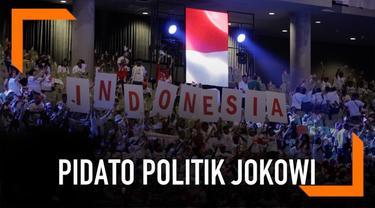 Calon Presiden nomor urut 01 Joko Widodo kembali menyinggung soal kepemilikan lahan, dan menunggunya untuk dikembalikan pada negara.