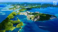 Negara Palau yang memiliki luas 459 km persegi terletak di Mikronesia bagian Samudera Pasifik ditempati lebih dari 21 ribu jiwa. (iStockphoto/Norimoto)