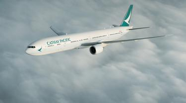 Pesawat Cathay Pacific (Foto: cathaypacific.com).