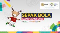 Cabang Sepak Bola Asian Games 2018. (Bola.com/Dody Iryawan)