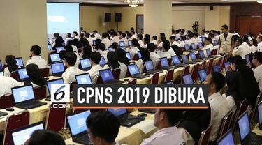 Pemerintah berencana membuka 197.111 formasi Calon Pegawai Negeri Sipil (CPNS) 2019. Rencananya, proses seleksi CPNS akan dimulai pada Oktober.