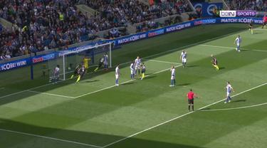 Berita video highlights Premier League antara Brighton Vs Manchester City yang berakhir dengan skor 1-4. The Citizens menjadi juara Premier League musim ini.