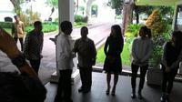 Jokowi menerima perwakilan dari Museum Madame Tussauds, Hong Kong (Liputan6.com/ Ahmad Romadoni)