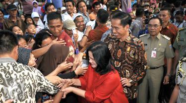 20150908-Jokowi dan Iriana-Jakarta