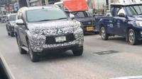 Mitsubishi Pajero sedang diuji di Thailand (sumber: LS2FBC)