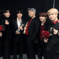 BTS di Golden Disc Awards (Pinterest)