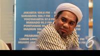 Wakil Ketua Balitbang Golkar Ali Muchtar Ngabalin mengatakan bahwa Golkar akan tetap solid dengan Koalisi Merah Putih, Jakarta, Sabtu (23/8/2014) (Liputan6.com/Andrian M Tunay)