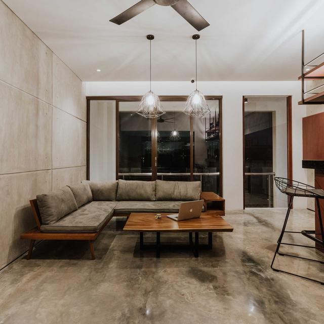 7 Inspirasi Arsitektur Rumah Mewah 4 Lantai Berdesain Minimalis Kontemporer Lifestyle Liputan6 Com