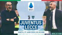 Serie A - Juventus Vs Lecce - Head to Head Pelatih (Bola.com/Adreanus Titus)