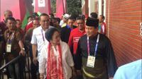 Megawati dan Prabowo menyaksikan final Asian Games