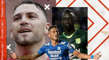 Shopee Liga 1 - Marko Simic, Wander Luiz, Makan Konate (Bola.com/Adreanus Titus)