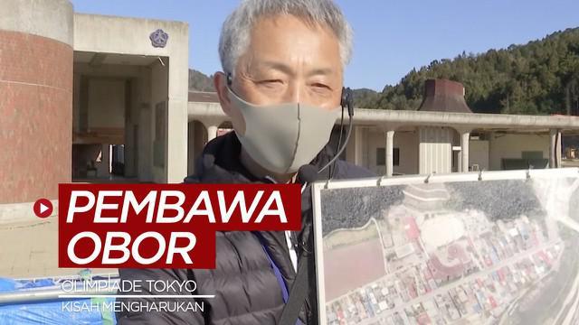 Berita video kisah singkat mengharukan dari salah satu pembawa obor Olimpiade Tokyo 2021, Noriyuki Suzuki.
