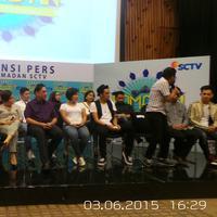 Preskon Ramadan SCTV. Foto: Puput Puji Lestari/Bintang.com
