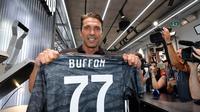 Gianluigi Buffon kembali ke Juventus. (dok Juventus)