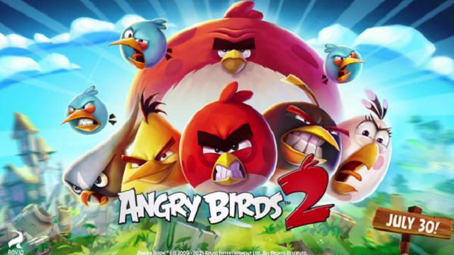 Angry Birds 2 Resmi Sambangi iOS dan Android