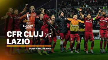 Berita Video Highlights Liga Europa, CFR Cluj Vs Lazio 2-1