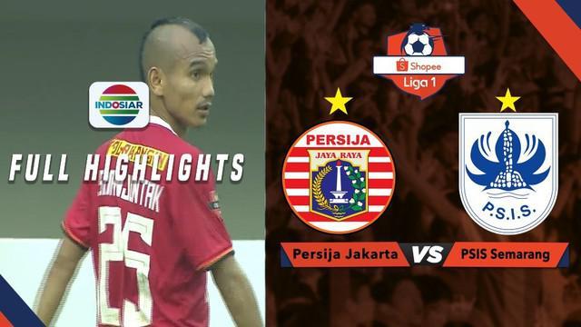 Berita video highlights Shopee Liga 1 2019 antara Persija Jakarta melawan PSIS Semarang yang berakhir dengan skor 2-1, Minggu (15/9/2019).