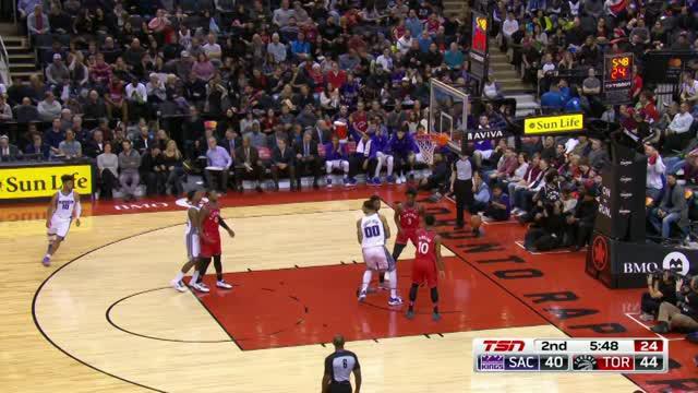 Berita video game recap NBA 2017-2018 antara Toronto Raptors melawan Sacramento Kings dengan skor 108-93.