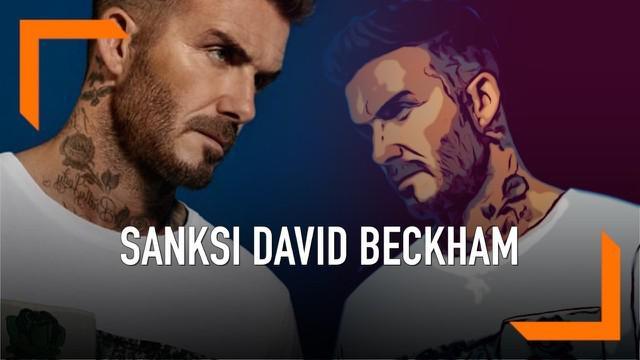 David Beckham dinyatakan bersalah oleh pengadilan karena menggunakan hp saat menyetir di Inggris. Beckham dikenakan larangan mengemudi selama 6 bulan dan denda senilai 14 juta rupiah.