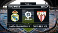 La Liga: Real Madrid Vs Sevilla (Bola.com/Adreanus Titus)