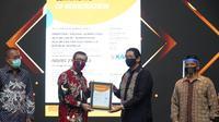 Menteri Yasonna saat diskusi arah kebijakan Pemerintah dalam UU Nomor 11 Tahun 2020 Tentang Cipta Kerja  di Bali, Jumat (11/12/2020). (Foto: Istimewa)