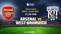 Prediksi Arsenal Vs West Bromwich (Trie Yas/Liputan6.com)
