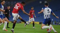 Striker Manchester United (MU),  Mason Greenwood (MIKE HEWITT / POOL / AFP)