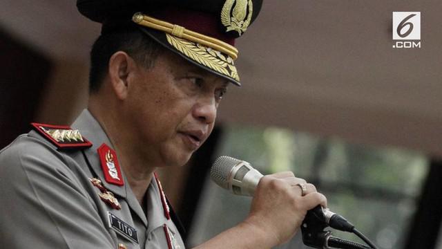 Kapolri Jenderal Tito Karnavian jelaskan, ada 17 kasus terorisme dengan memanfaatkan media sosial Telegram.