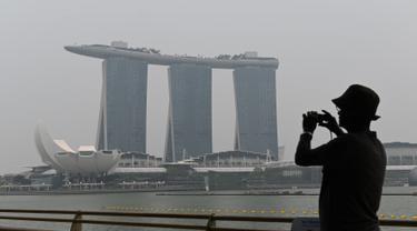 Hutan Indonesia Terbakar, Kabut Asap Selimuti Malaysia dan Singapura