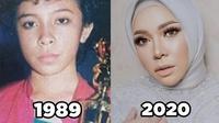 6 Transformasi Melly Goeslaw dari Remaja Hingga Kini, Makin Tirus dan Awet Muda (sumber: Instagram.com/melly_goeslaw)