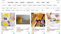 Taobao yang menjual sikat berwujud mirip Donald Trump. (Scren Grab)