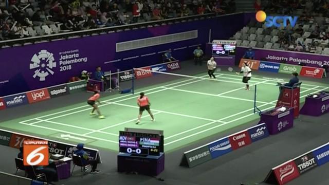 Dua tunggal putri, satu ganda campuran, dan satu ganda putri indonesia lolos ke babak 16 besar nomor perorangan bulutangkis.