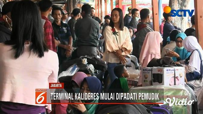 Ribuan Pemudik Jurusan Pulau Sumatera Pilih Berangkat Lebih Awal