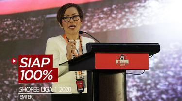 Berita video Emtek sudah siap 100 persen untuk menayangkan total 306 pertandingan Shopee Liga 1 2020 di Indosiar, O Channel, dan Vidio.