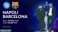 Liga Champions - Napoli Vs Barcelona (Bola.com/Adreanus Titus)