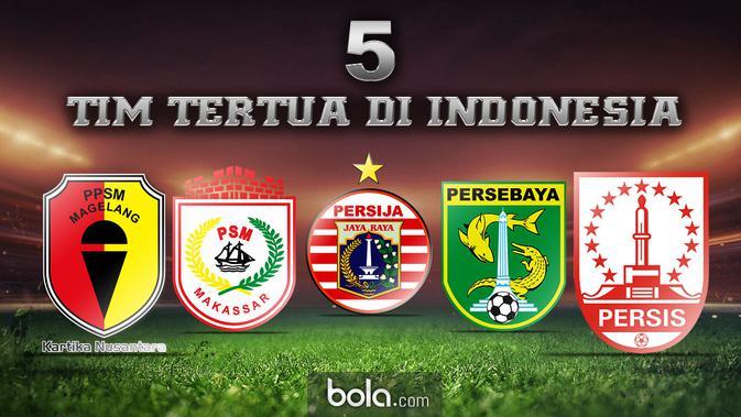 Kisah 5 Klub Sepak Bola Tertua di Indonesia - Indonesia Bola.com