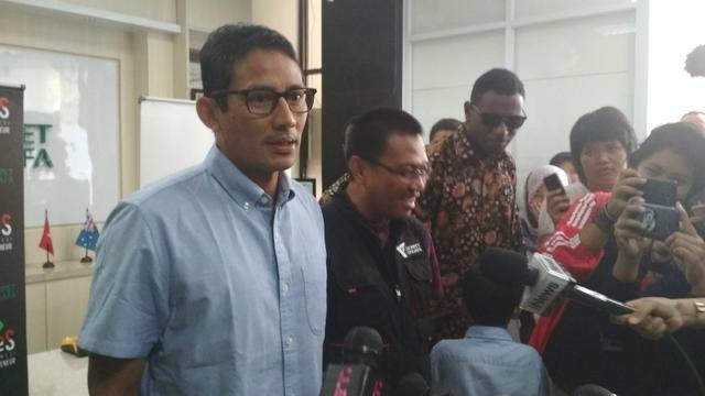 Gempa Dan Tsunami Palu Donggala Sandiaga Tunda Kampanye Ke Sulawesi