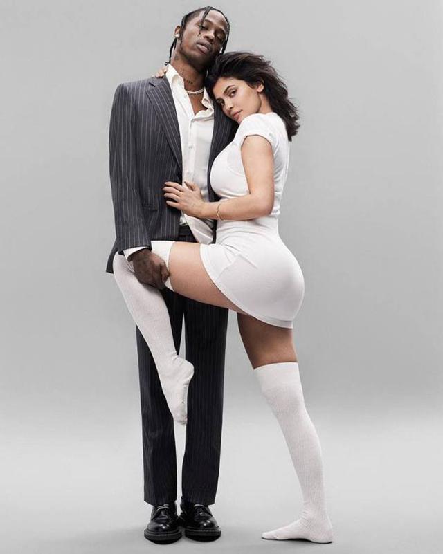 Kylie dan Travis yang romantis/copyright  instagram.com/gq/rna