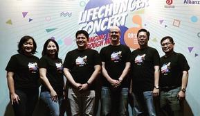 Konferensi Pers Lifechanger Concert. (Instagram.com/dgontha)
