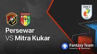 Liga 2 2021 : Persewar vs Mitra Kukar