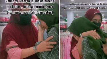 Viral Gadis Menangis Lihat Wanita di Mal Mirip Ibunya, Bikin Terharu