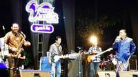 Didi Kempot alias The Godfather of Broken Heart hadir di Bistar Jazz Traffc Festival 2019. (Foto: Liputan6.com/Dian Kurniawan)
