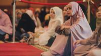 "Shireen Sungkar saat acara ""Ngariung Yuk!"" di Ballroom Gedung Putri Begawan, Baranangsiang, Bogor, Jawa Barat, Rabu 15 Mei 2019 lalu."