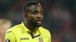 2. Cedric Bakambu (Villarreal) - 9 Gol (1 Penalti). (AFP/Milan Kammermayer)